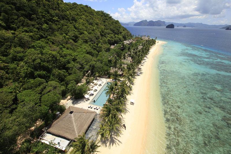 A luxury island hideaway