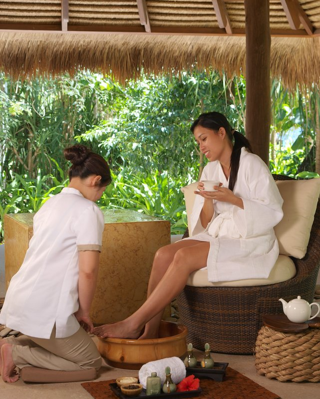 Luxurious treatments at the Spa
