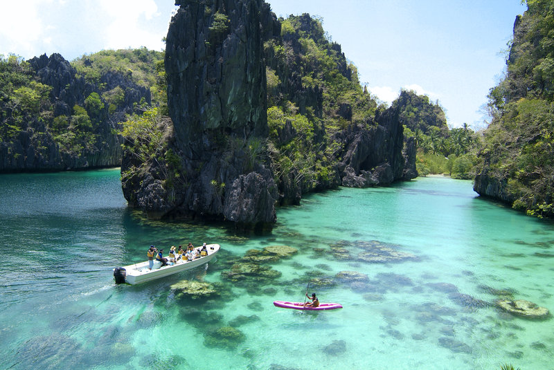 Kayaking at the Big Lagoon