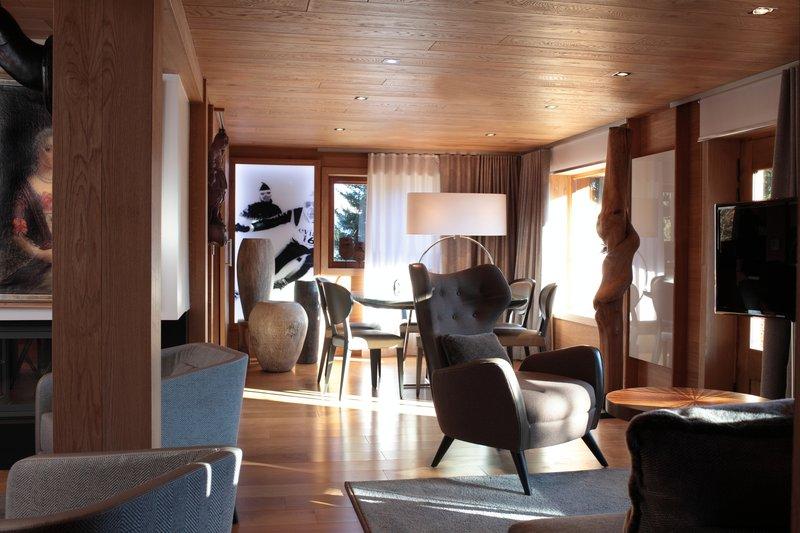 Chalet La Residence Living Room