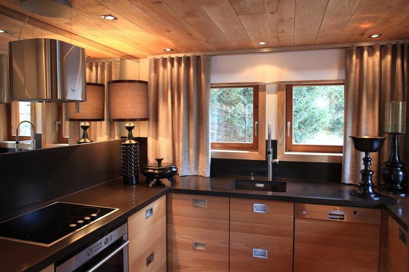 Chalet La Residence Kitchen