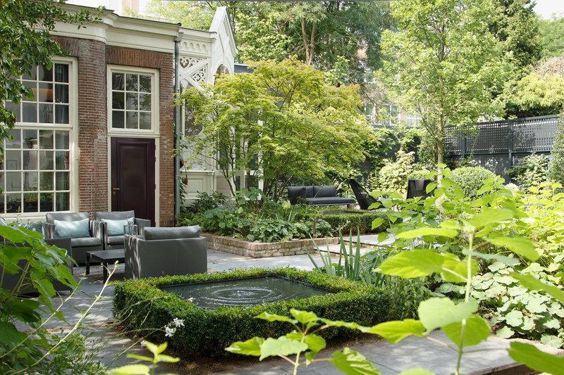 Interior Courtyard and Garden