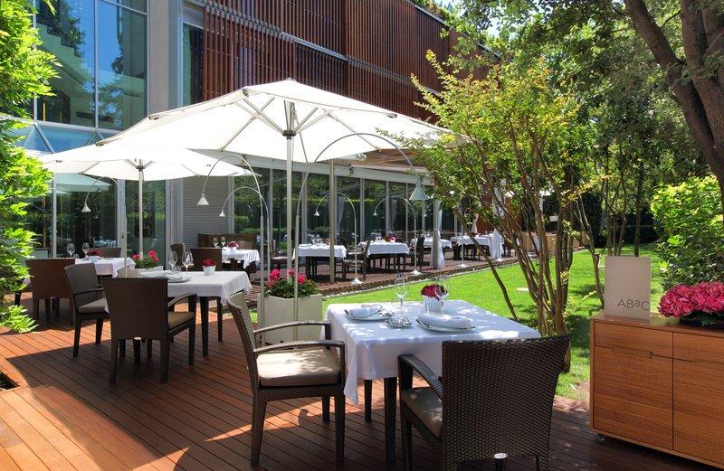 ABaC Restaurant outdoor terrace