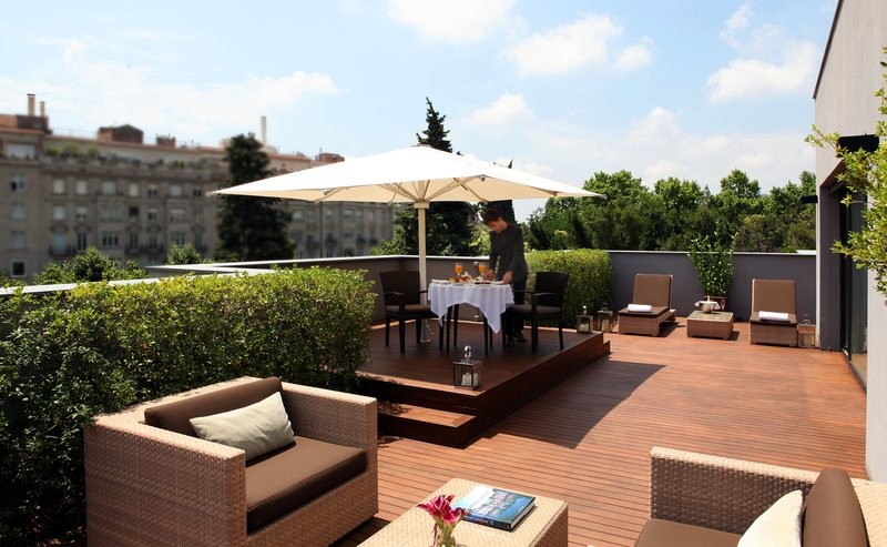 Penthouse Suite terrace