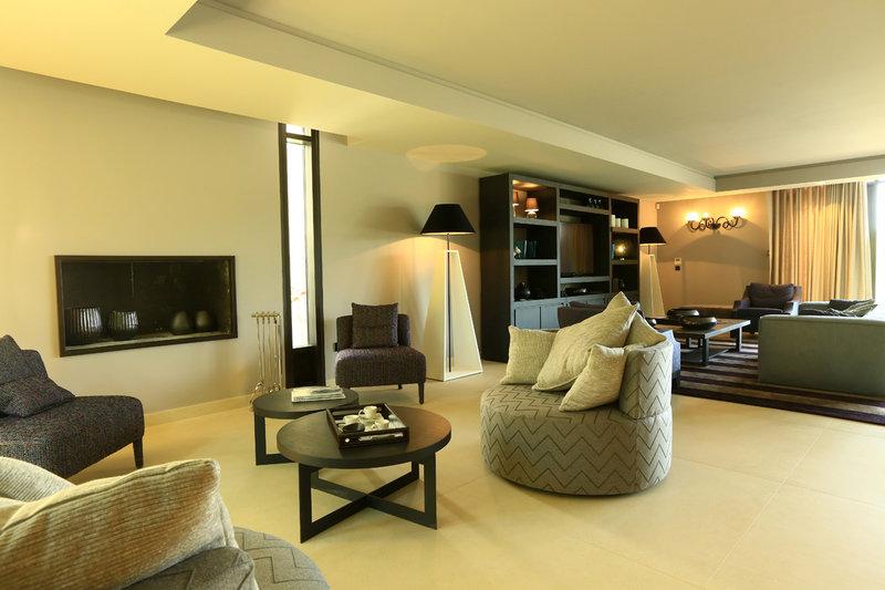 Fireplace Luxury Villa