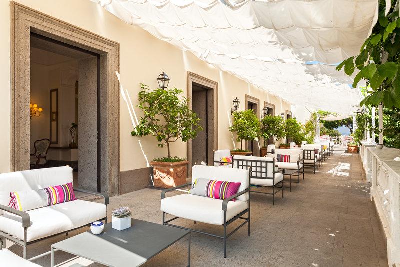 Lobby terrace