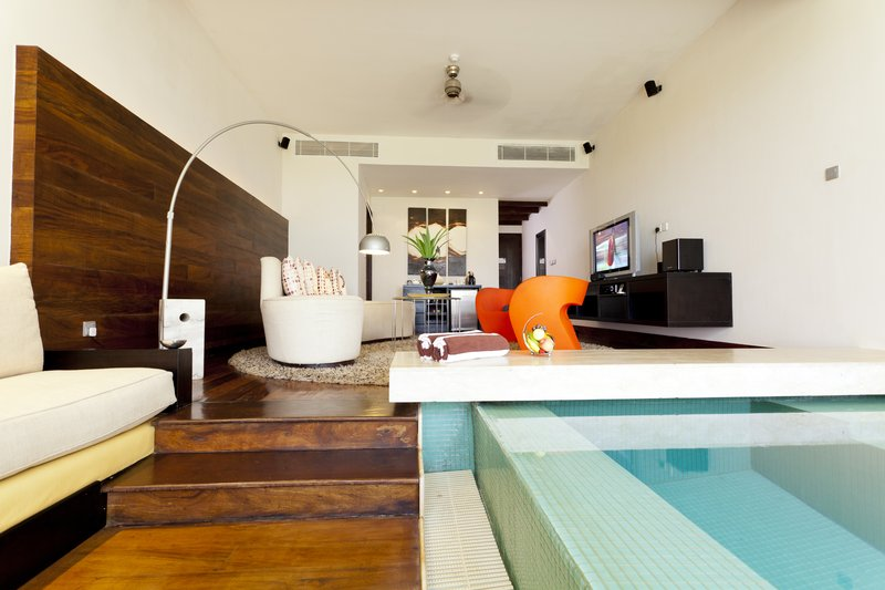 Ocean Loft Sitting Area With Plunge Pool