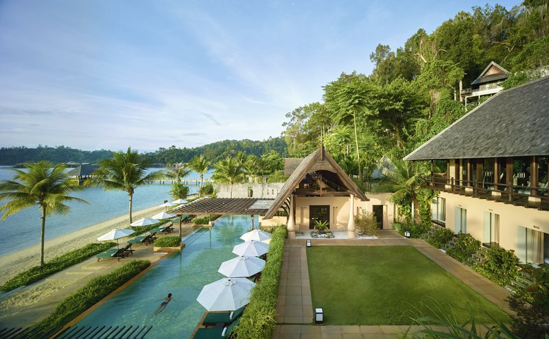 A hideaway at the jungle's edge in coastal Borneo