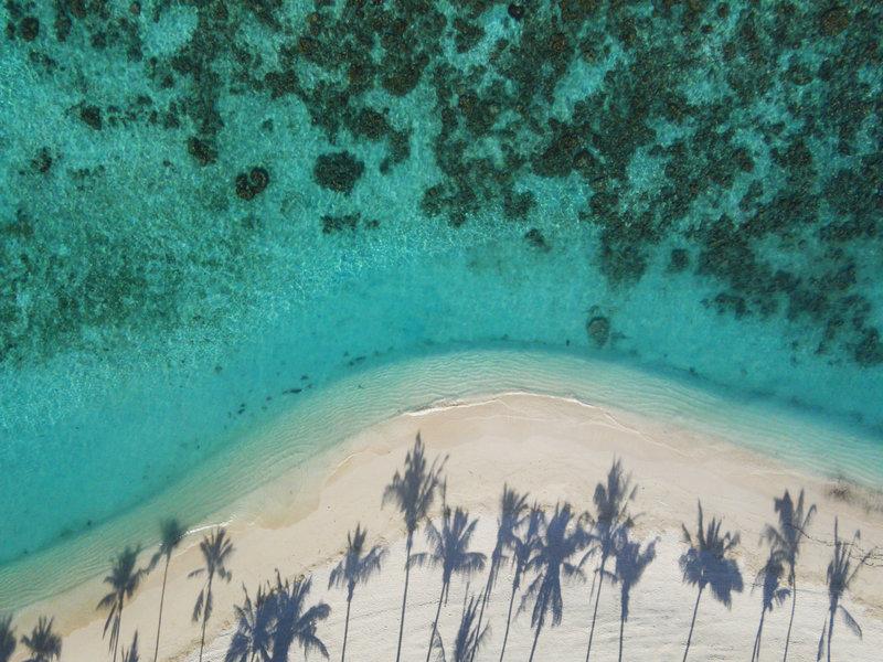 Milaidhoo Maldives - Beach Aerial