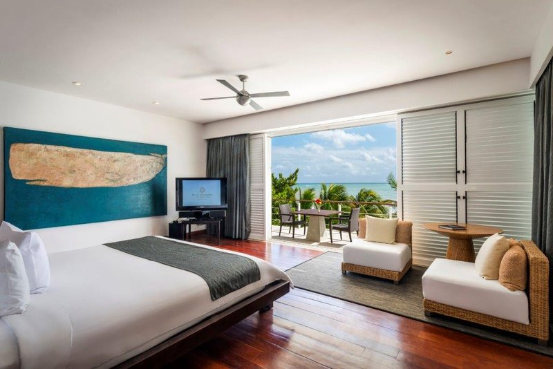Beach Front Presidential Suite Master Bedroom