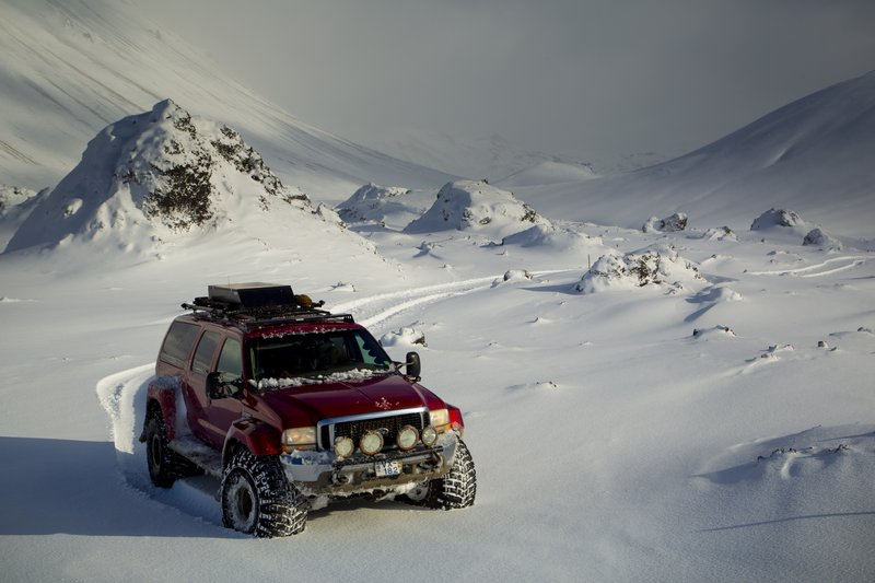 Winter Jeep Tours