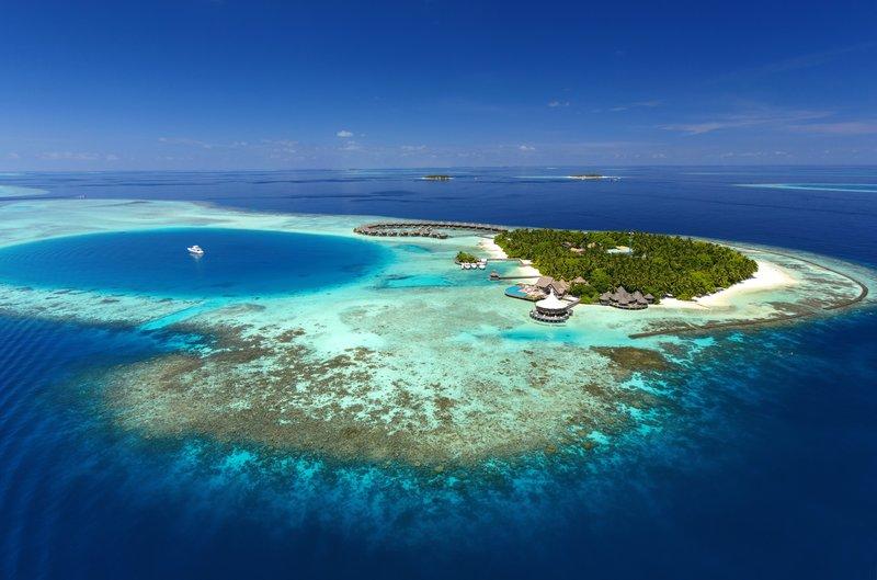 Baros Maldives Aerial View