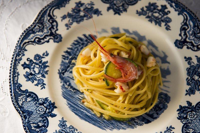 Spaghetti Zucchine & Gamberetti