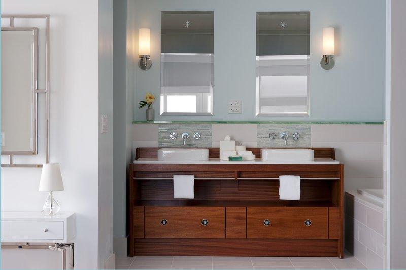 Hillside Cottage Balcony Bathroom Vanity