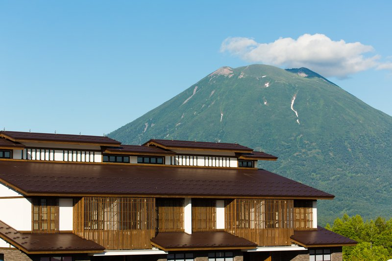 Mt Yotei in summer