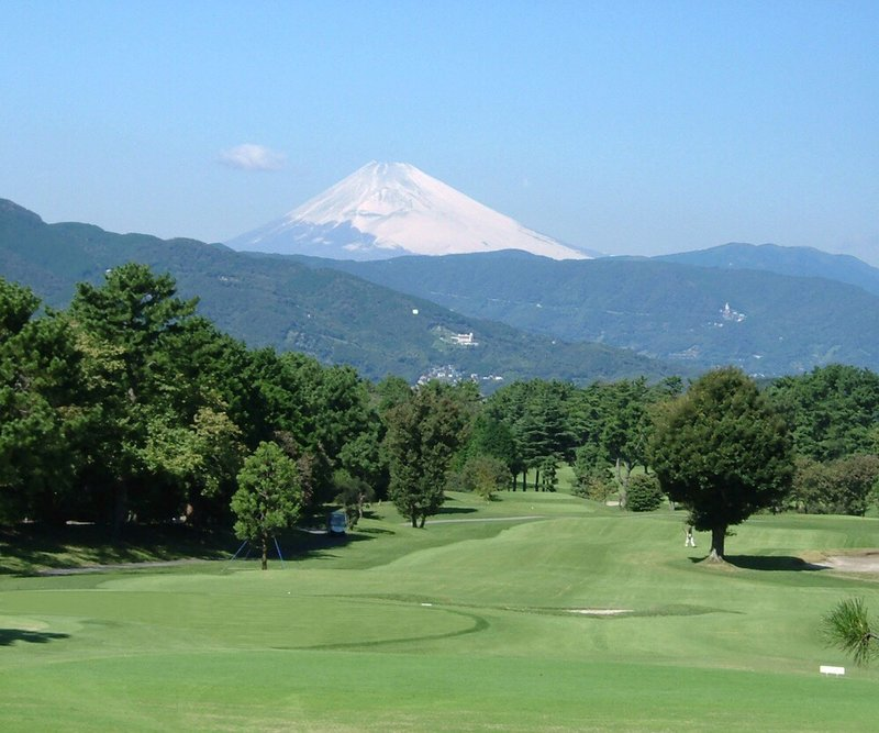 Golf Course With Mt Fuji Southerncross