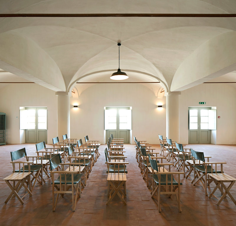 Events room in the old olive mill setting