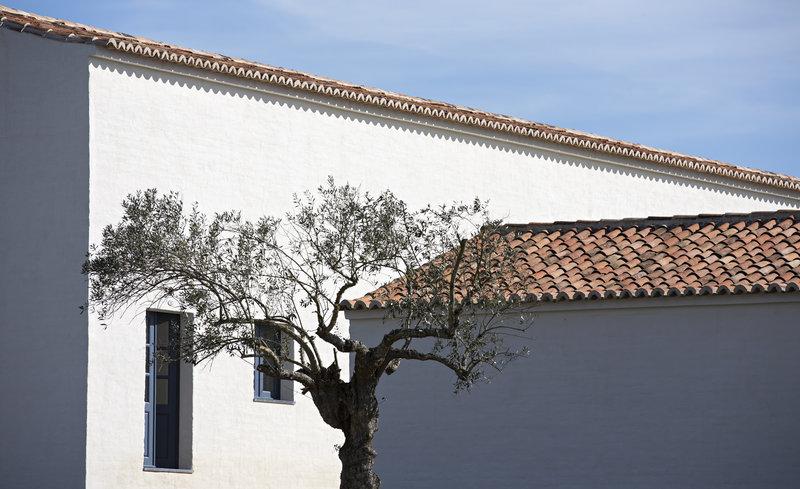 Vernacular architecture carefully restored