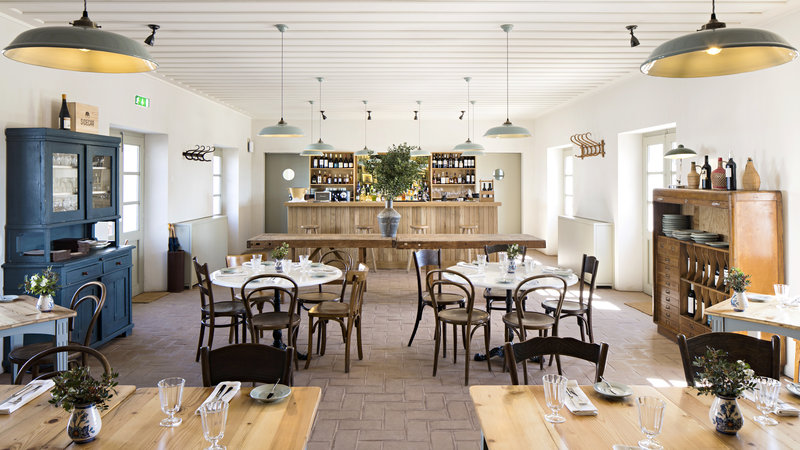 Farm to table restaurant, down to earth and cosy