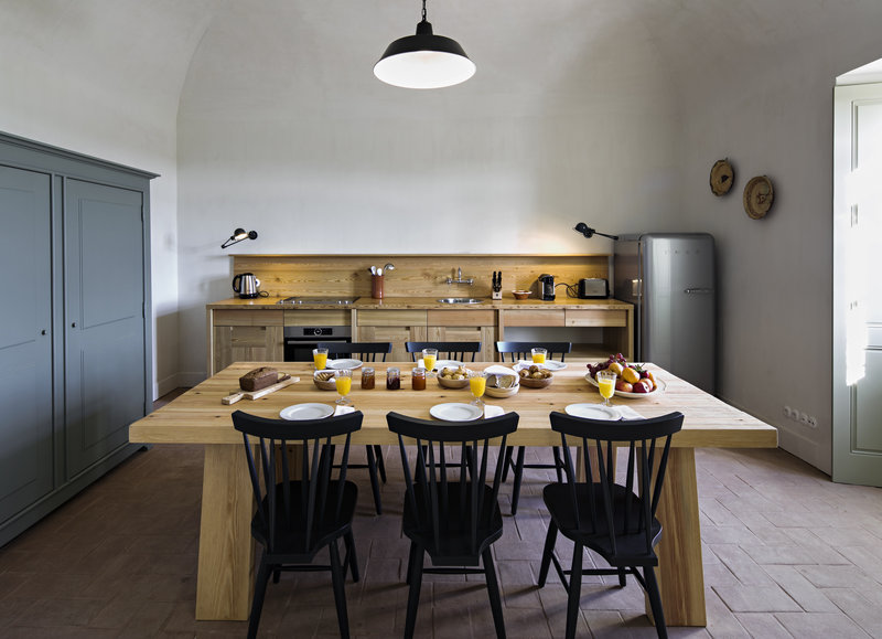 Fully equiped kitchen in all cottages