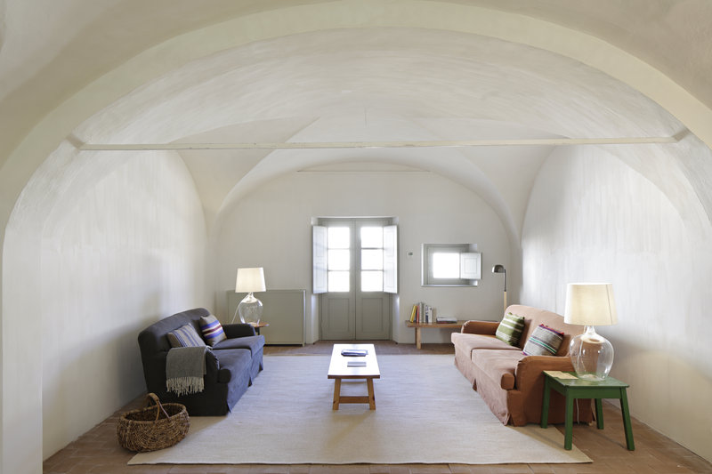 Simplicity, comfort and pared-down interior design