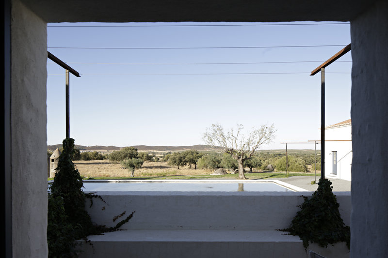 Rooms have views to the open landscape