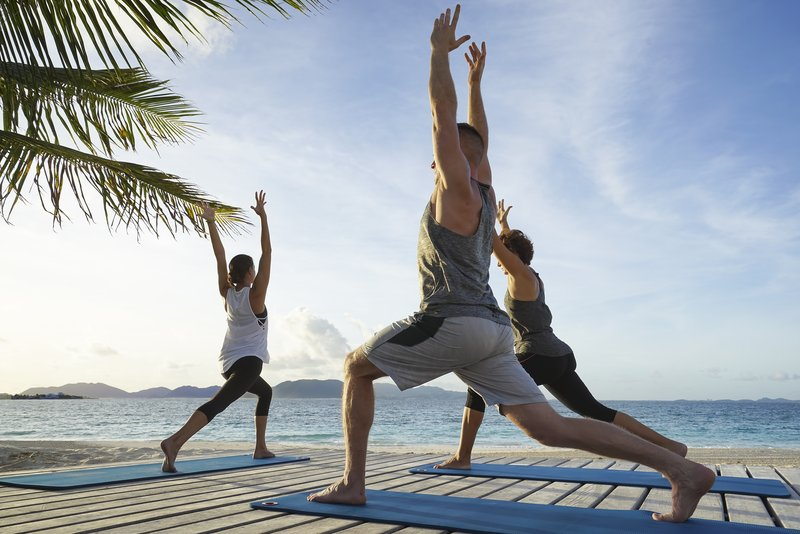 Sunrise Yoga At The Reef By Cuisinart Dpi