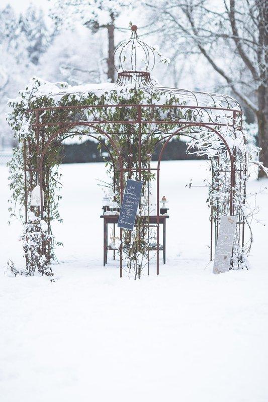 Winter Wedding Rosepavillon Hotelpark