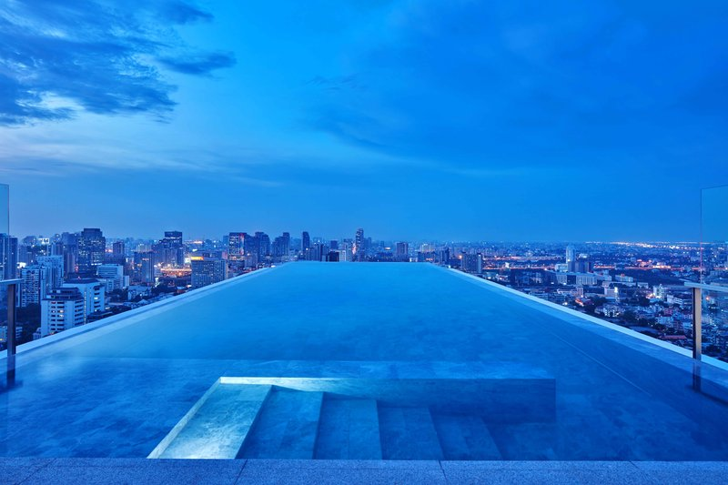 Pool For Suite Guests On Rooftop