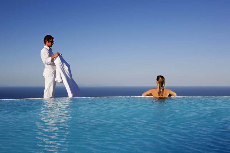 Infinity Pool with Panoramic View at Carpe Diem