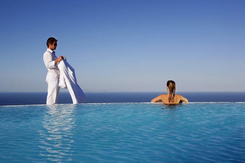 Infinity Pool with Panoramic View at Carpe Diem