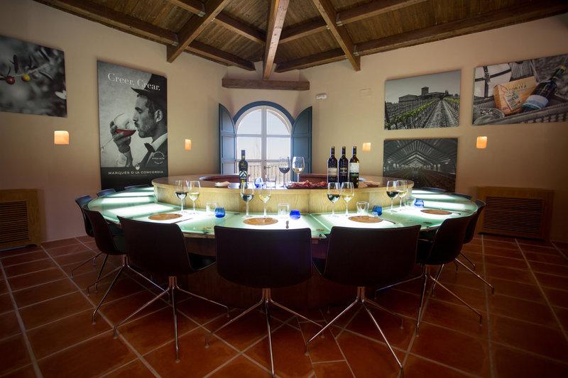 Mesa de Cata Casa de Padua