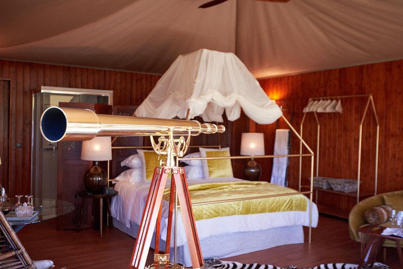 Tent Suite Deluxe interior