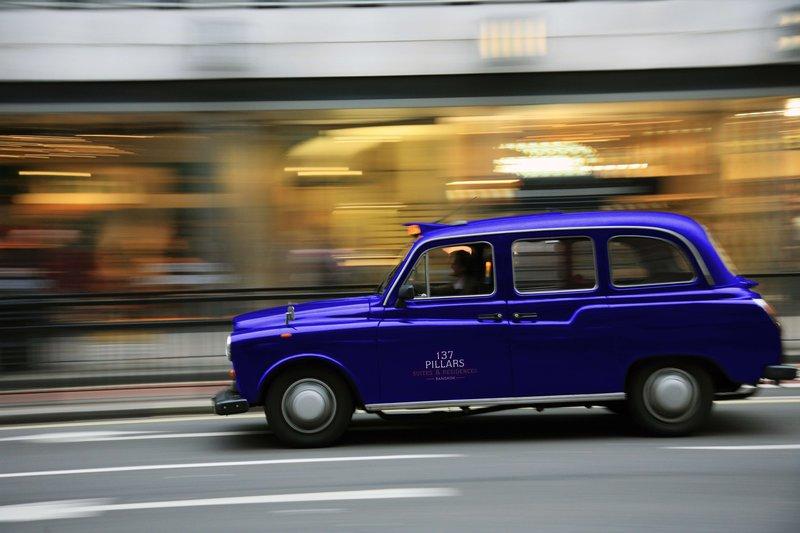 Louie Pillars London Cab