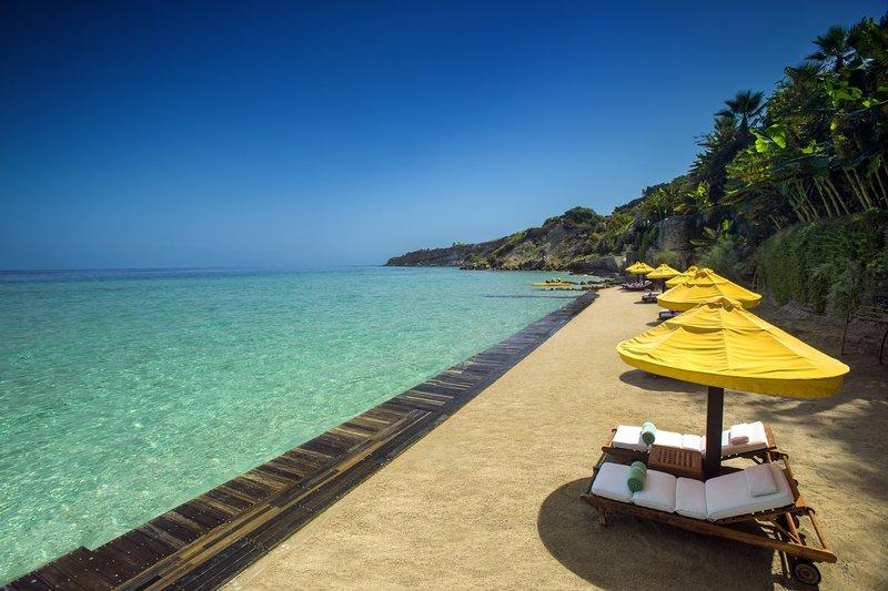 Porto Zante Private Beach Area