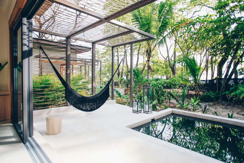 Terrace in Pool View Ninta Bungalow