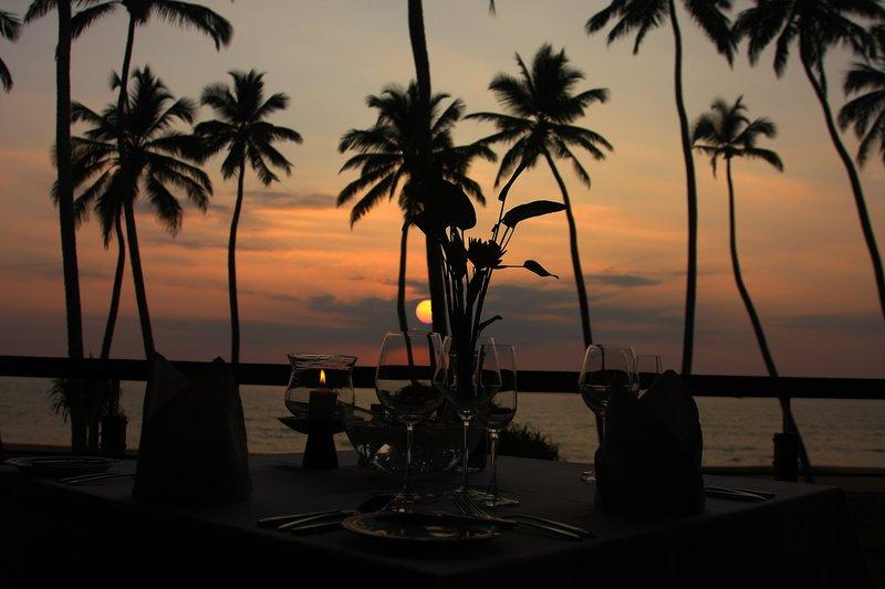 Sunset at Restaurant