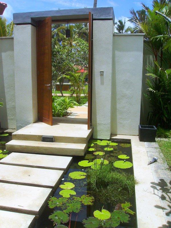 Ocean Pavilion Entrance Pond