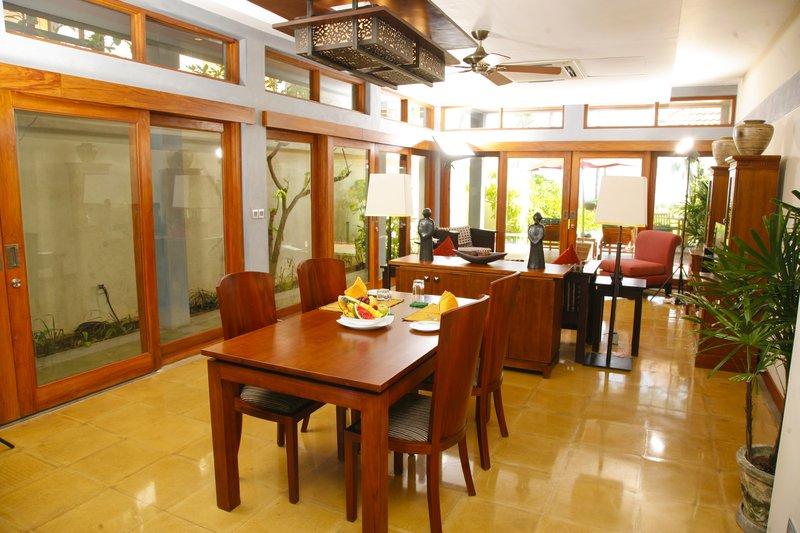 Ocean Pavilion Dining Area
