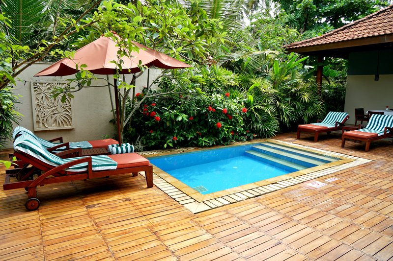 Garden Pavilion Private Plunge Pool