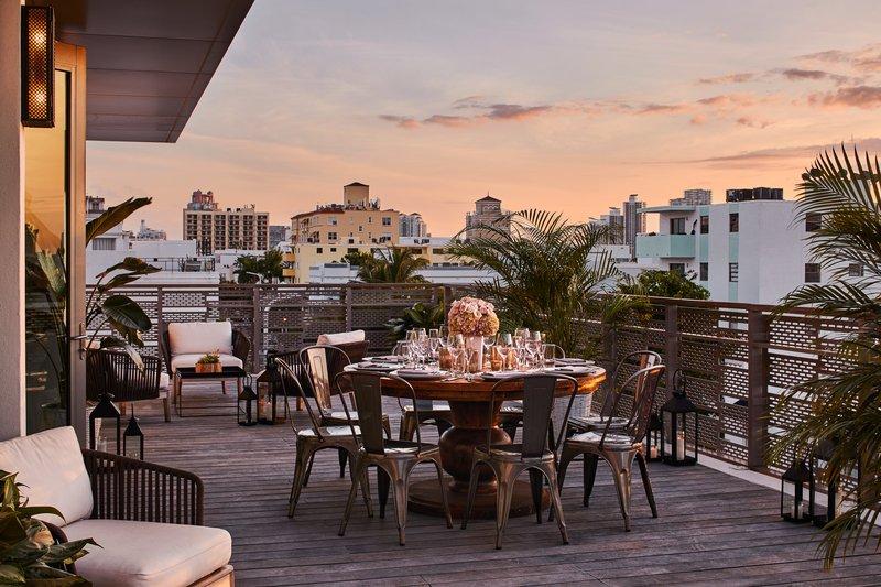 Skyline Penthouse Terrace