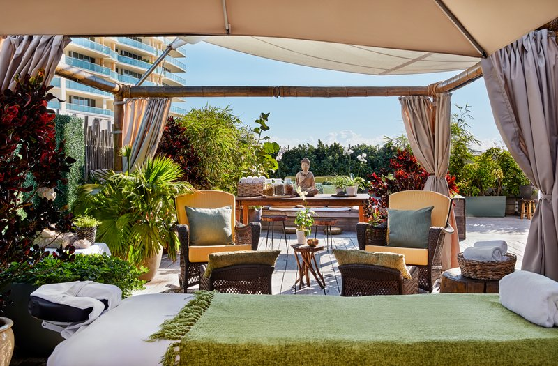 Rooftop Wellness Garden Spa