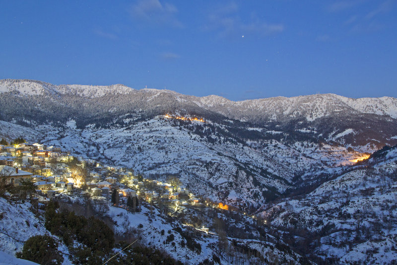 Winter in Metsovo