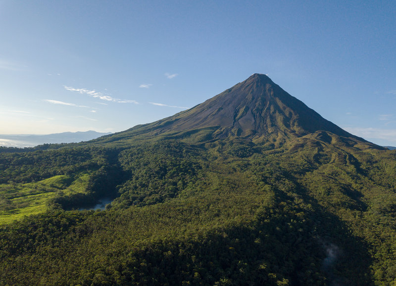 Majestic Arenal Volcano