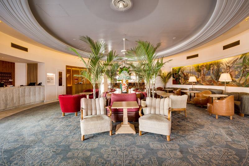 Plymouth Hotel Lobby