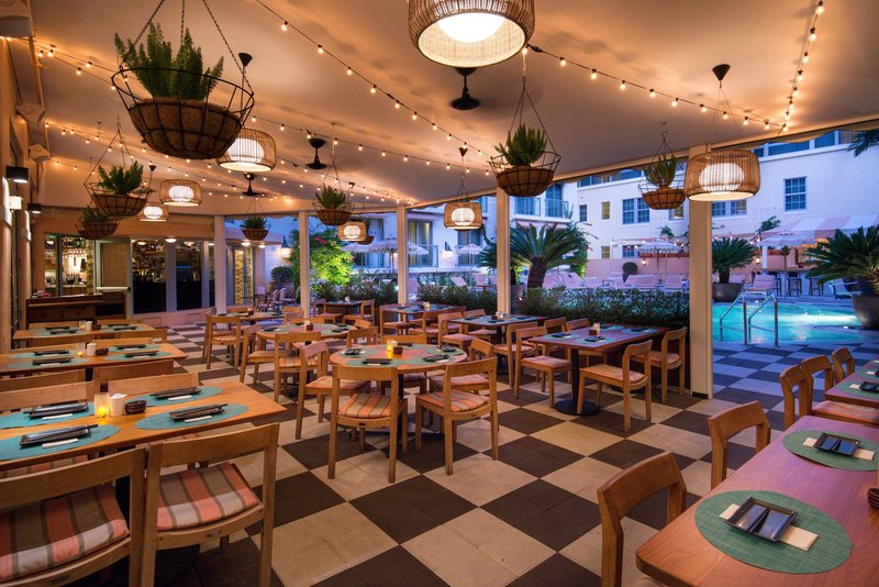 Blue Ribbon Sushi Bar & Grill - Outdoor Seating