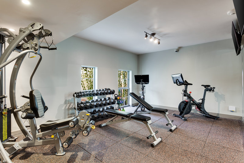 Plymouth Hotel Gym