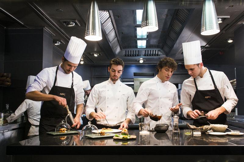 ABaC Restaurant's kitchen with Chef Jordi Cruz