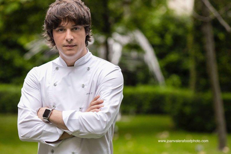 Michelin awarded Chef Jordi Cruz