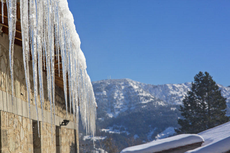 Winter At Metsovo